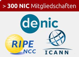 ANTAGUS Partner - unternehmen sowie 300 NIC Mitgliedschaften